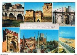 RIMINI:  VISIONI  -  SALUTI  DA  RIMINI  -  PER  IL  LIECHTENSTEIN  -  FG - Rimini