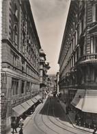 Cartolina  - Postcard / Viaggiata -  Sent -  Trieste, Via Dante. ( Gran Formato ) Anni 50° - Trieste