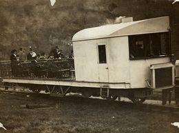 RAILWAY CHEMIN DE FER 21* 16 CM Fonds Victor FORBIN 1864-1947 - Trenes