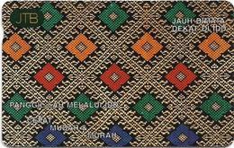 Brunei - JTB - Autelca - Call Through IDD, 1994, 10B$, Used - Brunei