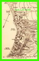 MARTINIQUE- SAINT-PIERRE - PLAN DE LA VILLE AVANT LA CATASTROPHE DE 1902 - MAP - COLLECTION BENOIT JEANNETTE - - Martinique
