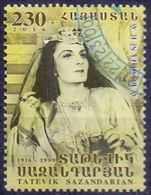 Used Armenia 2016, Tatevik Sazandarian 1V. - Armenië