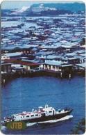 Brunei - JTB - Autelca - View Of Kampong Ayer (Cn. Above Face Value), 1992, 20B$, Used - Brunei