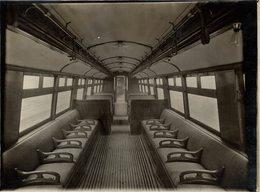 THE NEW BAKER ST WATERLOO RAILWAY CHEMIN DE FER 21* 16 CM Fonds Victor FORBIN 1864-1947 - Trenes