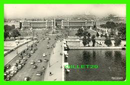 PARIS (75) - PONT ET PLACE DE LA CONCORDE - ANIMÉE - PHOTO ET IMP. PATRAS - - Places, Squares