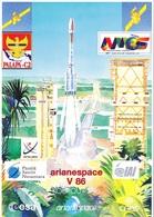 France Arianespace V 86 Affiche Neuve - Technical