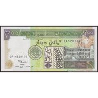 TWN - SUDAN 57b - 200 Dinars 1998 Prefix QF UNC - Sudan