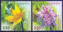 Used Armenia 2016, Flowers 2V. - Armenië