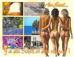 PIN UP - FRANCE 80/90's - Multivues AU SUD ... Il Y A Du Soleil Et Des Nanas ... CPM GF - Sexy Nude Seins Nus Ou Bikini - Pin-Ups