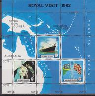Solomon Is.- Royal Visit  Sheet MNH - Stamps