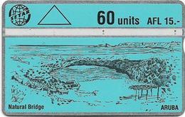 Aruba - Setar - L&G - Natural Bridge - 251B - 1992, 60U, Used - Aruba
