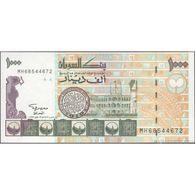 TWN - SUDAN 59a - 1000 1.000 Pounds 1996 Prefix MH UNC - Sudan