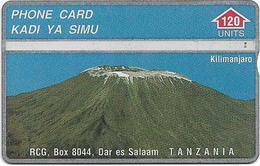 Tanzania - RCG - L&G - Mount Kilimanjaro Mountain - 402A - 1994, 120U, Used - Tanzania