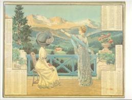 ALMANACH Des Postes Et Des Télégraphes 1912 ( Peut-être Une Reproduction  ??? ) Calendrier (van) - Calendriers