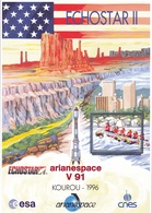 France Arianespace V 91 Affiche Neuve - Autres