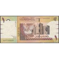 TWN - SUDAN 64a - 1 Pound 2006 Prefix AA UNC - Sudan