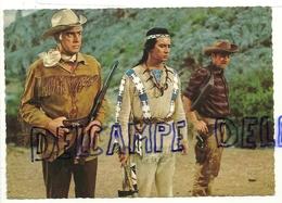 Stewart Granger, Pierre Brice Et Paddy Fox. Coxboys Et Indien.Rialto/Constantin Nr. 2 - Acteurs