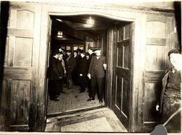 LONDON Baker Street And Waterloo Railway (BS&WR), Bakerloo Tube RAILWAY 21* 16 CM Fonds Victor FORBIN 1864-1947 - Trenes