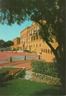Principaute De Monaco, Montecarlo, Le Palais Vu Du Jardin - Palazzo Dei Principi