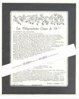 Armée Belge - Faire-part Humoristique De 1954 - Télégraphiste , Humour, ... Aachen (van) - Documents