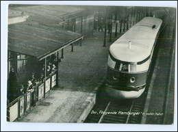 XX01066/ Der Fliegende Hamburger In Voller Fahrt   Eisenbahn AK 1933 - Railway