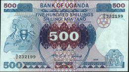 UGANDA - 500 Shillings 1986 AU-UNC P.25 - Uganda