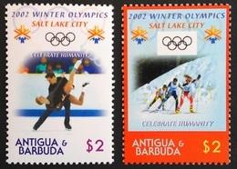 Antigua & Barbuda 2002** Mi.3722-23 Olympics , MNH [18;137] - Winter 2002: Salt Lake City