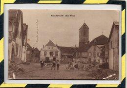 DPT 67 . - . KIRCHHEIM PLACE EGLISE ET ANIMATION - Other Municipalities