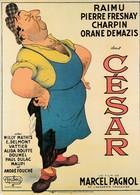 ALBERT DUBOUT Affiche De 1950 Du Film CESAR (Spectacle: Cinema: Affiches Sur Carte) - Dubout