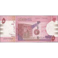 TWN - SUDAN 66a - 5 Pounds 2006 Prefix CB UNC - Sudan
