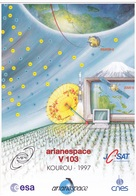 France Arianespace V 103 Affiche Neuve - Autres
