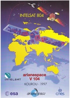 France Arianespace V 104 Affiche Neuve - Autres