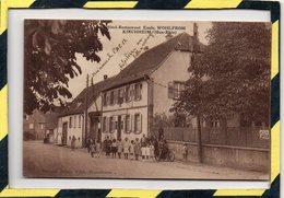 DPT 67 . - . KIRCHHEIM - HÔTEL-RESTAURANT Emile WOHLFROM - Other Municipalities