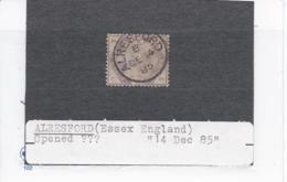 15249) UK GB Postmark Cancel England - Oblitérés