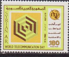 Syria / Siria - Telecomunication Day  MNH - Siria