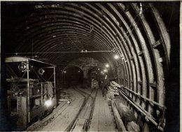 LONDON Baker Street And Waterloo Railway (BS&WR) RAILWAY CHEMIN DE FER 21* 16 CM Fonds Victor FORBIN 1864-1947 - Trenes