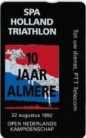 Netherlands - KPN - L&G - Spa Holland Triathlon - 09.1991, 20U, 2.500ex, Mint - Privées