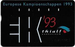 Netherlands - KPN - L&G - Thialf Kampioenschappen '93 - 09.1991, 4U, 2.000ex, Mint - Privées