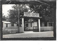 33-ANDERNOS-les-BAINS-Une Vue De La Colonie De Vacances Des Travaux Publics-Voiture Traction AV - Andernos-les-Bains
