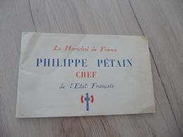 Livre Propagande Biographie Maréchal Pétain Guerre 39/45 Photos 44 Pages - Documents