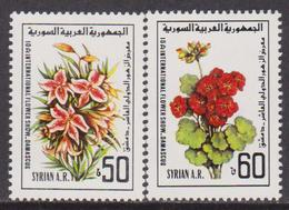 Syria / Siria - Flowers Fiori Set  MNH - Siria