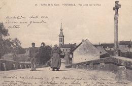 VOUTENAY - VALLÉE DE LA CURE - YONNE - (89) -  CPA ANIMÉE DE 1918. - Autres Communes