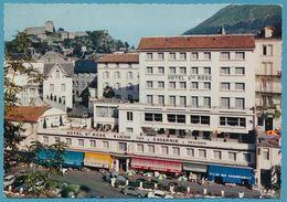 LOURDES - Hôtel Sainte-Rose  - Renault 4L R8 Citroen 2CV Fourgonnette Autos - Lourdes