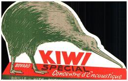 "En K/Buvard Encaustique ""Kiwi"" (Format 12 X 18) (N= 1) - Buvards, Protège-cahiers Illustrés"