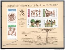 Nauru BF 5 1982 MNH Scouts - Nauru