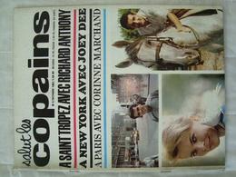 Magazine SALUT LES COPAINS N° 3 De Octobre 1962 St Topez ( Poster De Richard Anthony) Joey Dee - Johnny - Musique