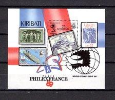 Kiribati   1989  .  Y&T  Nº   10   Block - Kiribati (1979-...)