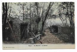 Cpa 8020080 Roye Au Marais La Hutte, Chasse , Fusil, - Roye