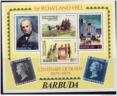 Barbuda BF 41 MNH Sir Rowland Hill - Antigua And Barbuda (1981-...)
