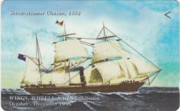 SINGAPORE(GPT) - Ship Serew-steamer Chusan 1852, CN : 89SIGA(normal 0), Used - Boats